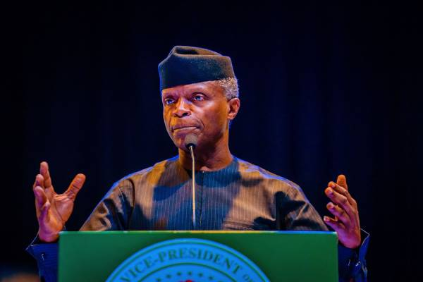 Latest Breaking News About Banking Sector : Vice President Osinbajo charges bankers to take on financing of Transformative projects