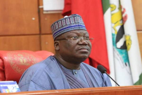 Latest Breaking News from Nigeria's Senate : President of the Senate Swears in Jarigbe Agom Jarigbe for Cross River North District