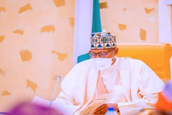 Latest Breaking News About INEC : President Buhari swears in 3 INEC National Commissioners at FEC