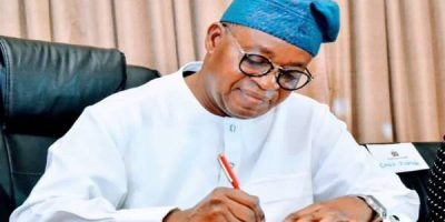 Latest Breaking Business News In Nigeria Today : Osun State Governor, Gboyega Oyetola, signs anti open grazing bill