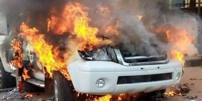 Latest Breaking News about Insecurity in South East: Unknown gunmen kill 3 policemen in Onitsha, set Vehicle ablaze
