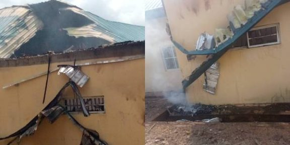 Latest Breaking Political News in Nigeria Today: INEC Confirms attack on its Awgu Enugu State Office