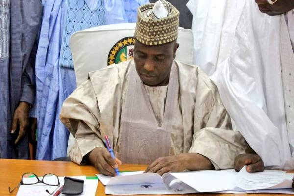 Latest Breaking News About Sokoto State: We requested Telecommunications shutdown - Governor Tambuwal