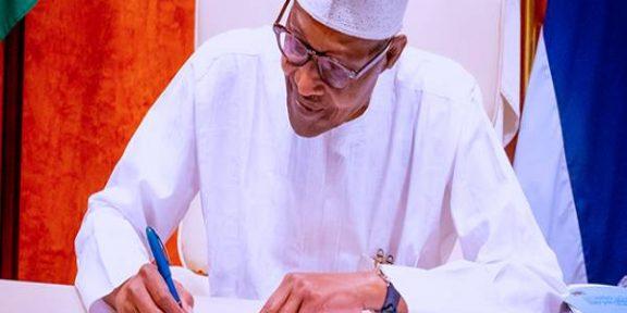 Latest Breaking News In Nigeria Topday: President Buhari seeks Senate's confirmation of EFCC Board