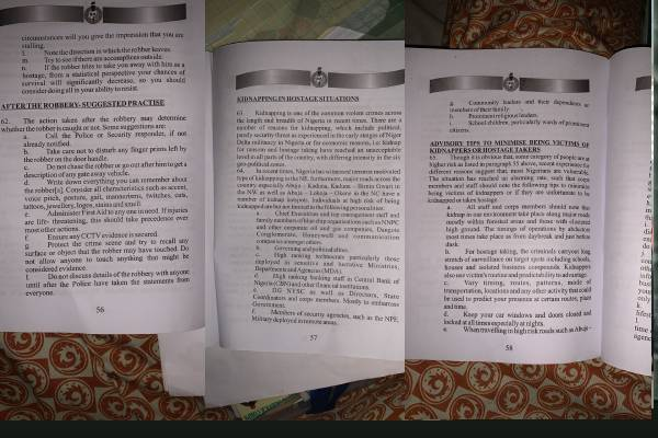 Latest Breaking News About The NYSC: Controversy trails alleged nysc kidnap advisory in pamphlet to corp members