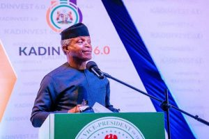 Latest Breaking News About KADINVEST 6.0: Vice President Osinbajo urges states to invest in Agriculture