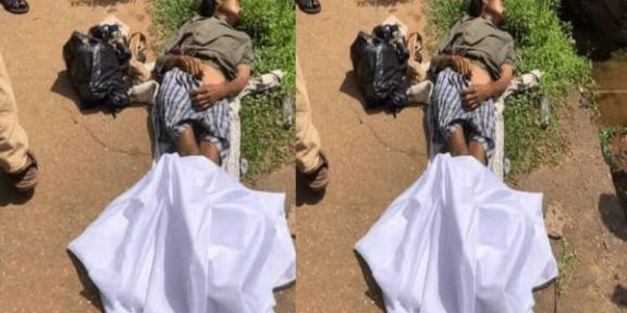 Latest Breaking News From Ondo State: Suspected Yahoo Boys dump unidentified lady's corpse in Akure