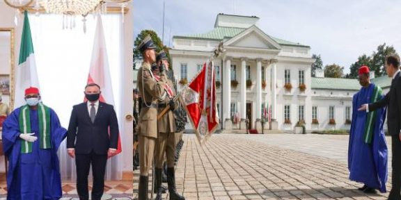 Latest Breaking Diplomatic News: Nigerian Ambassador to Poland presents Letters of Credence in Warsaw