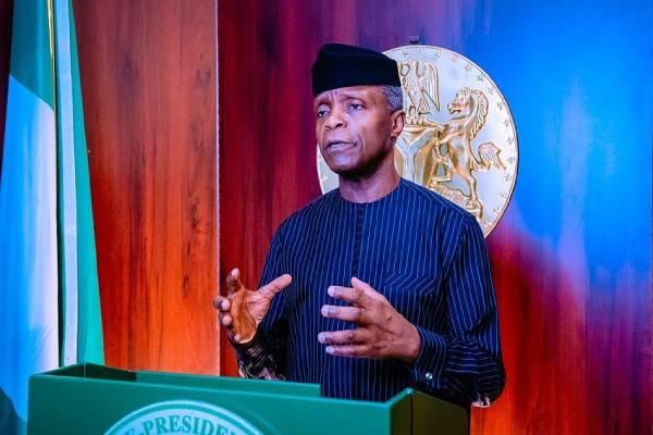 Nigeria must begin to commercialise it's intellectual capacity- Osinbajo