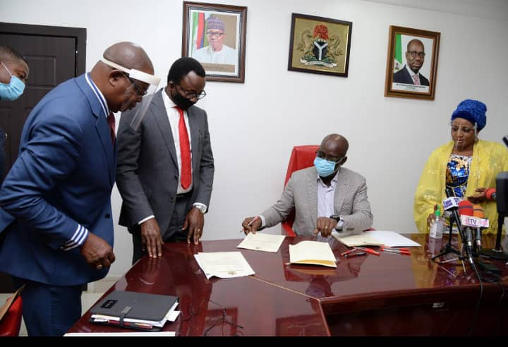 Obaseki appoints two Special Advisers, forwards names of 11 Commissioner-nominees to Edo Assembly