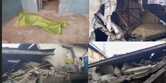 One feared dead as building collapses in Ondo