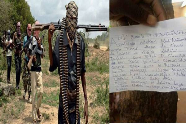 Latest news in Nigeria is that Panic as bandits allegedly send threat letter to four Sokoto communities