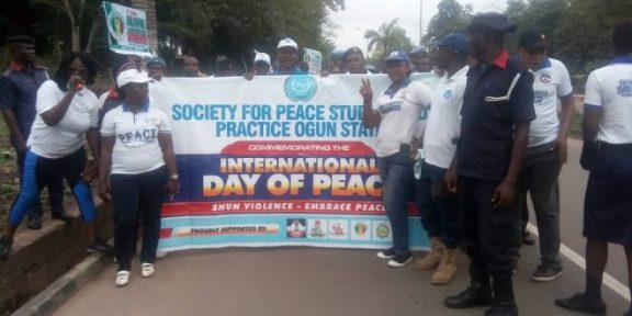 Peace corps advocates promotion of peace, others in Ogun