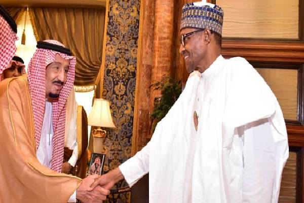 Latest news is that Saudi Arabia has been kind to Nigeria - Buhari