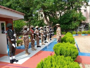 Chief of Defence staff Lucky Irabor