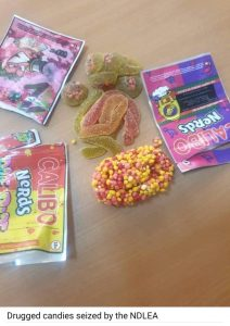 NDLEA intercepts drugged candies from UK,