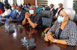 Gov. Ugwuanyi swears in Justice Ozoemena as Acting Chief Judgeof Enugu