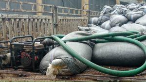 Customs intercepts 10,000 liters of fuel in polythene bags
