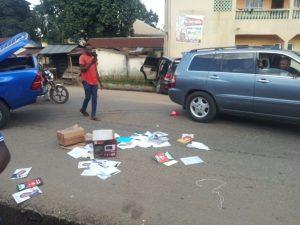 Gunmen attack Anambra lawmaker's convoy, set Ajali Police station ablaze