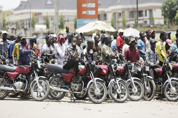 Kaduna govt announces ban on motorcycles for three months