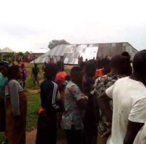 church building collapses during service in Taraba