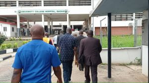House committee on health visits UCH, calls for better undersatnding between FG, Doctors