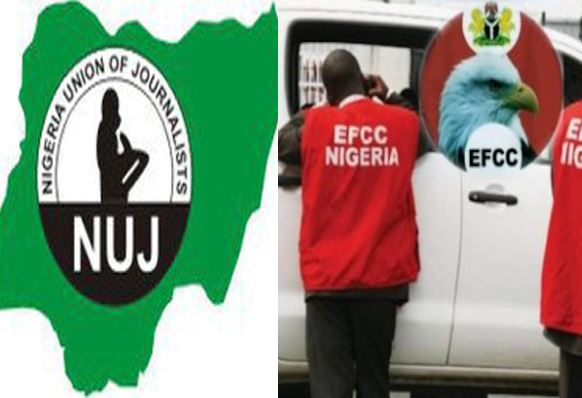 NUJ criticises EFCC over invasion of Journalist's home in Anambra