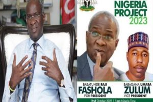 Fashola distances self from antics of unsolicited support groups