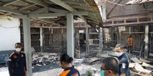 Fire outbreak in Indonesian prison kills at least 41 inmates, 80 hospitalised