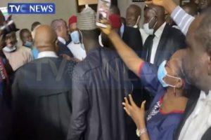 Court restrains EFCC from retrying fmr Abia state gov. Orji Kalu