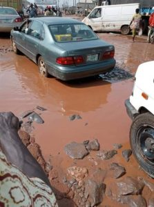 Ogun residents lament state of bad roads, accuse government of neglect