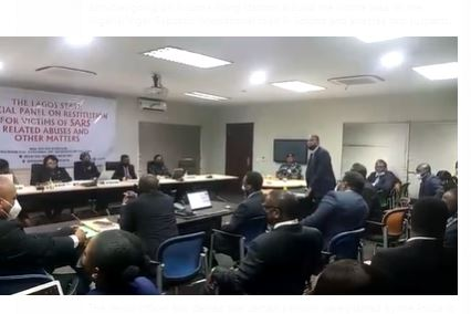Latest Breaking News on #ENDSARS: Lagos Police Rep admits to presenting wrong video to SARS Panel