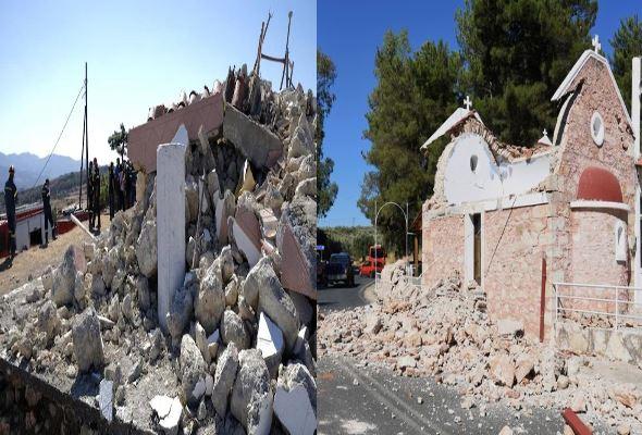 One dead, nine injured after magnitude 5.8 earthquake hits Greek island of Crete