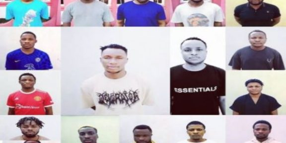 Current news about EFFC convicting 17 internet fraudsters in Uyo