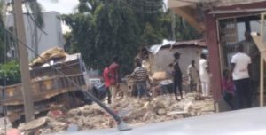 FCT sanitation task force demolishes shanties, illegal attachments