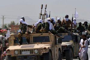 Taliban show off captured US military weapons at Kandahar victory parade