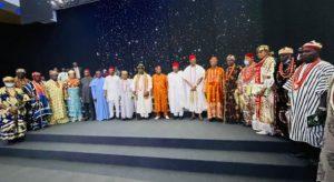 Governor Umahi inaugurates new leadership of S/east traditional rulers