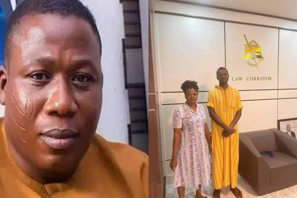 BREAKING_ Lady-K, other aide of Sunday Igboho released from DSS detention