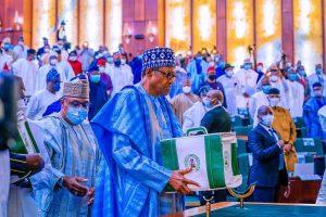 Full Text; President Buhari presents N16.39 trillion 2022 Appropriation Bill