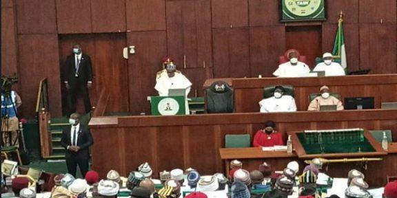 Buhari presents 2022 budget of N16.39trillion