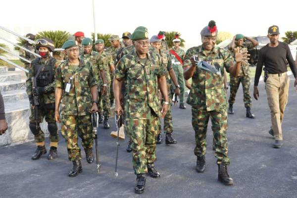 COAS launches three military operations in Enugu