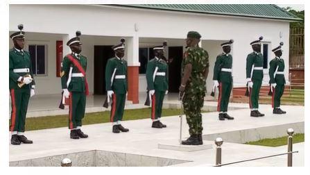 Latest Breaking News about the Nigerian Army: COAS, Lt Gen Faruk Yahaya, arrives Enugu to launch Operation Golden Dawn