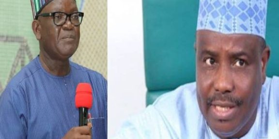 Governor Ortom condoles with Sokoto Gov, families of market attack