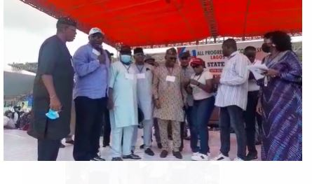 Latest Breaking Political News in Nigeria Today: APC elects new executives unopposed in Lagos