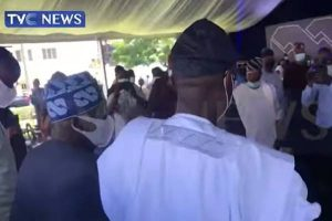 Sanwo-olu hosts a reception for Asiwaju