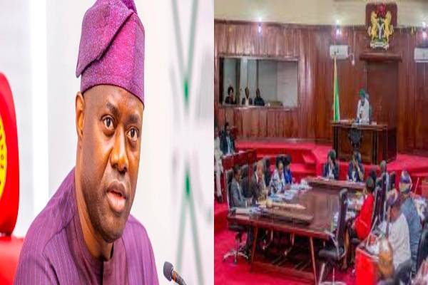 Latest Breaking News About Oyo State House of Assembly: State Assembly approves Gov. Makinde's N18.6bN LOAN REQUEST