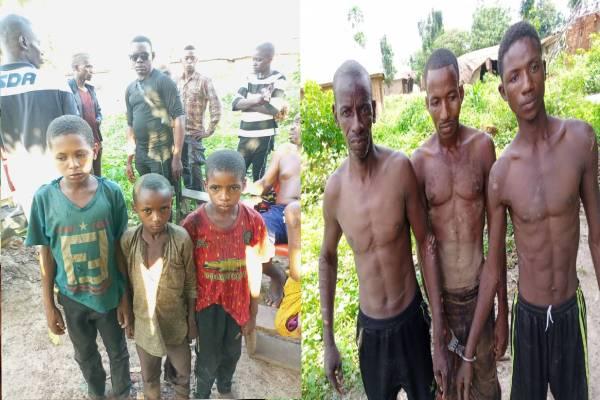 Latest Breaking News About Kogi State: Hunters group, vigilantees raid kidnapper's den, arrests 3 free 3 fulanis