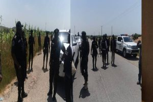 Latest Breaking News About Security in Nigeria: CP eLKANAH, sENIOR POLICE OFFICERS VISIT TROOPS, URGE THEM TO BE PROACTIVE