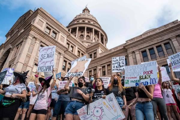 US court suspends Texas abortion law after Biden legal challenge