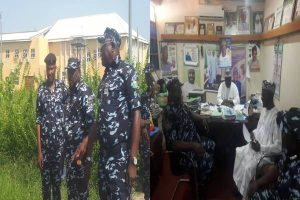 Latest Breaking News About Zamfara State: Zamfara CP, Ayuba Elkanah, visits Tertiary Institutions in Gusau